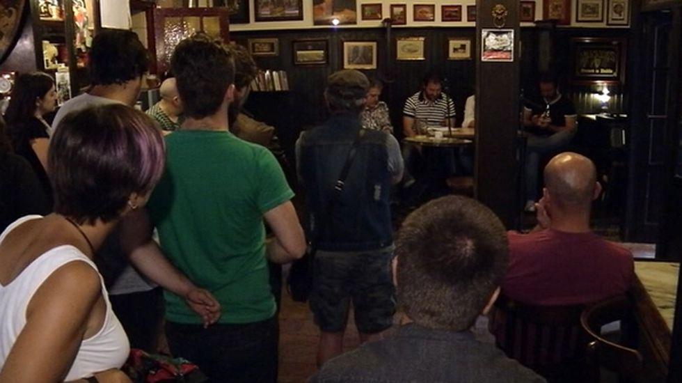 Un concierto en un bar de Oviedo