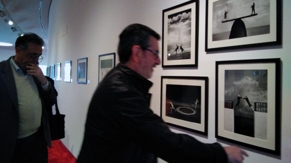 Exposición de Gilbert Gracin en el Niemeyer
