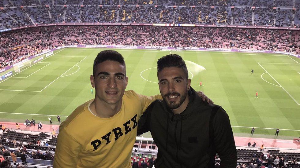 Borja López y José Aurelio
