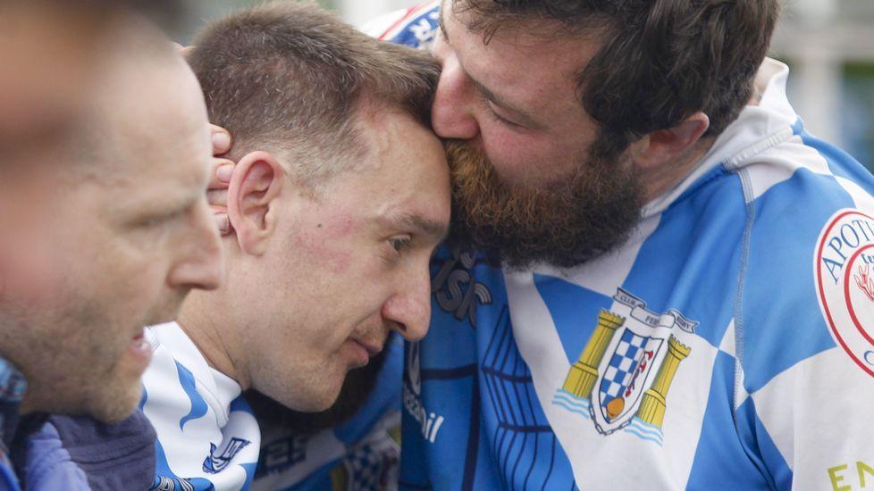 El Club de Rugby de Ferrol, eliminado de la fase de ascenso