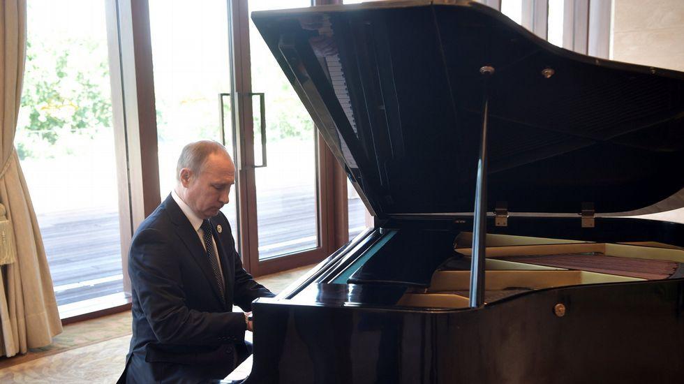 Un virtuoso del piano llamado Vladimir Putin