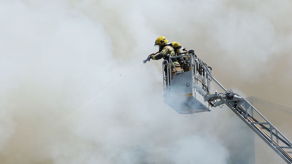 Incendio en A Falperra