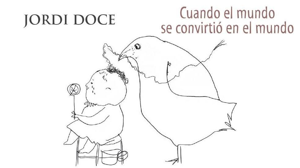 Ilustración de Rafael Pérez Estrada para la antología de Jordi Doce