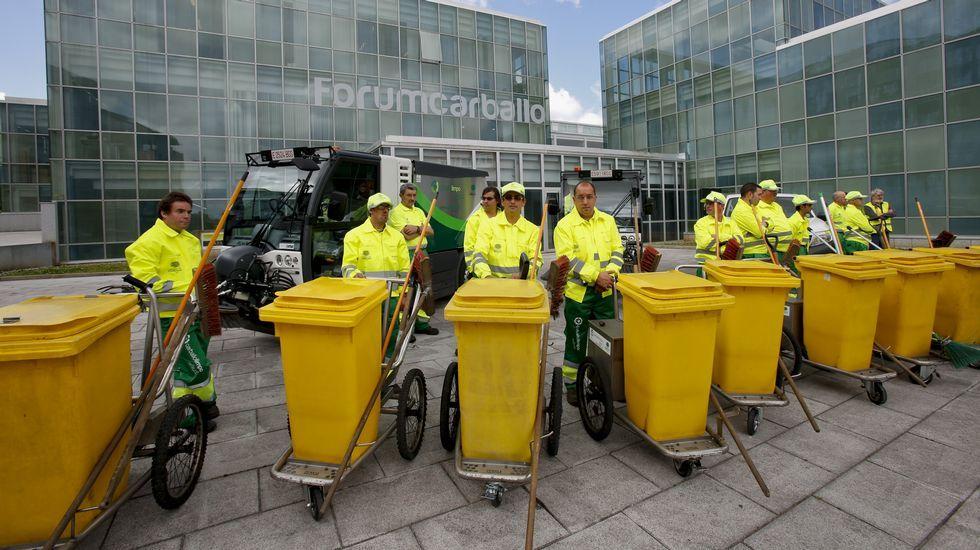 Presentados los equipos técnicos y humanos para la limpieza urbana