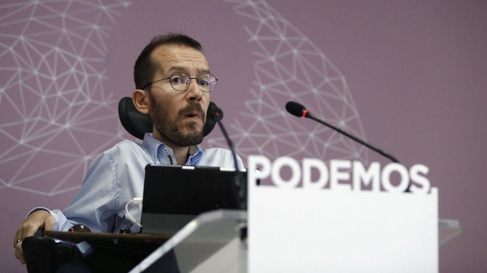 Podemos retirará su moción de censura en caso de que el PSOE presente una propia