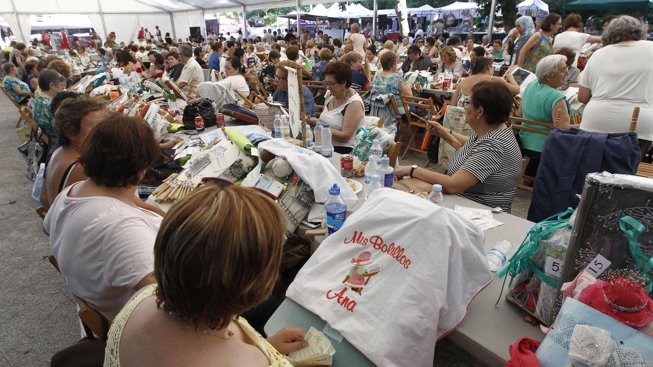 500 palilleros se reúnen en Mos