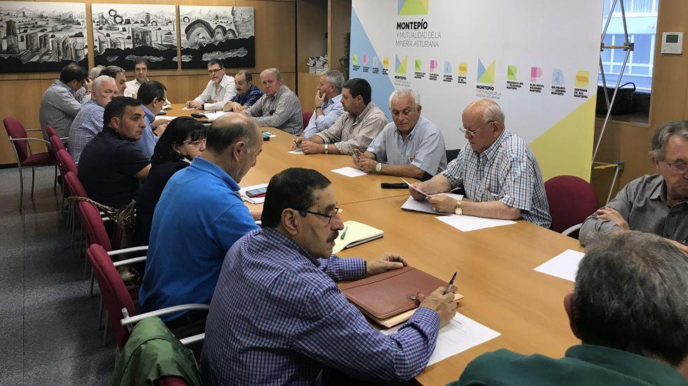 Reunión de la dirección del Montepío