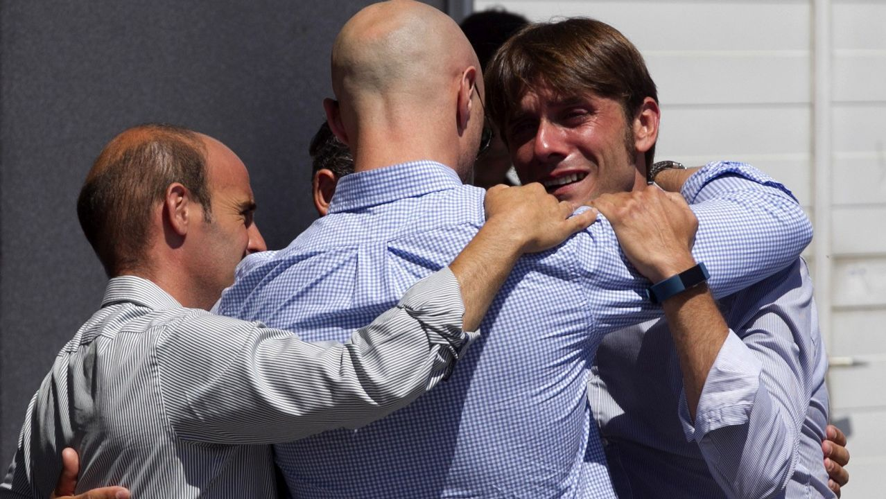 Familiares y compañeros despiden al diestro Iván Fandiño en Amurrio