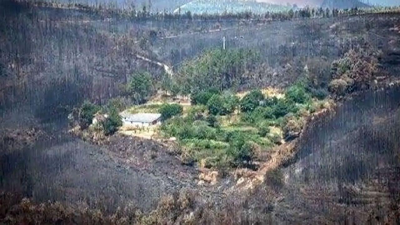 La aldea que se salvó del fuego