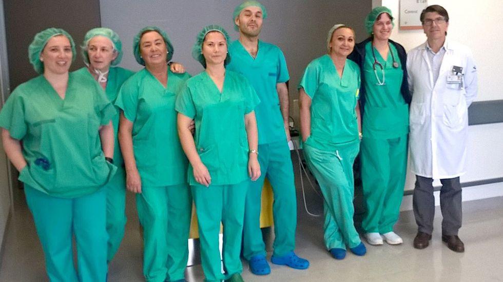 Equipo de neurocirugía del HUCA