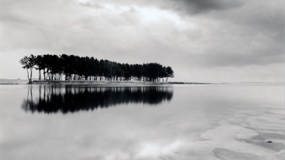Fragmento de una de las fotografías de «El peso del aire», de Michael Kenna