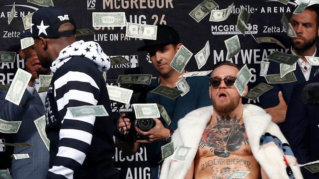 Circo total entre Mayweather y Mcgregor