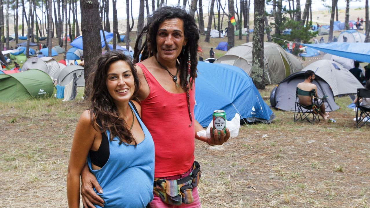 El Festival de Ortigueira se disfruta también desde el cámping