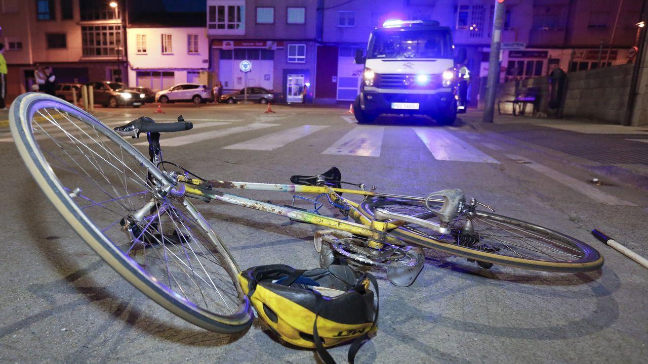Imagen de archivo de un atropello ciclista