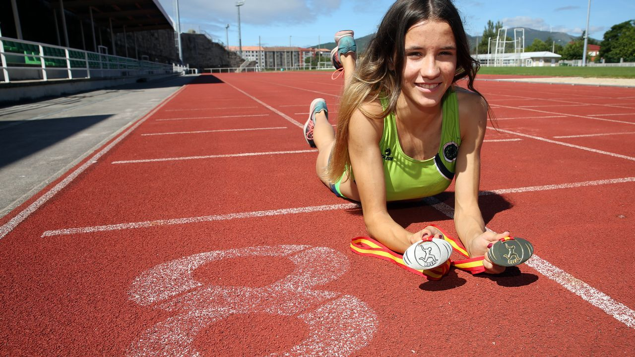 Raquel Meaños atleta