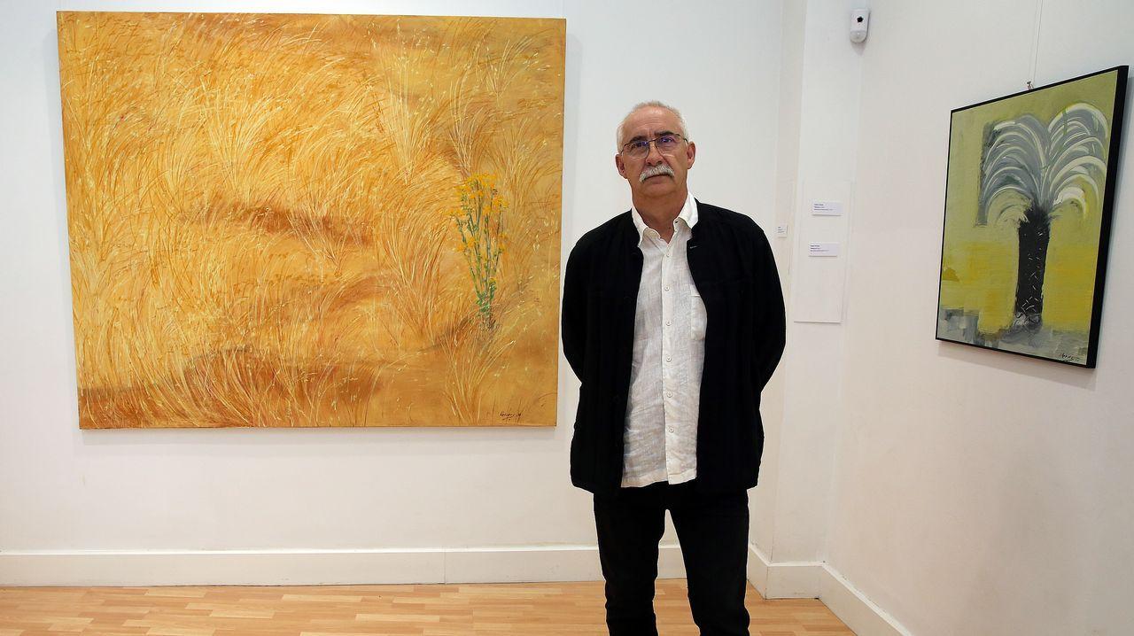 """Xaquín Chaves nos presenta su exposición """"Territorio cromático"""""""