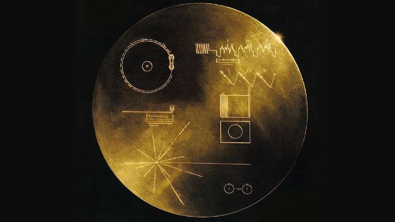 Una cápsula del tiempo fuera del Sistema Solar