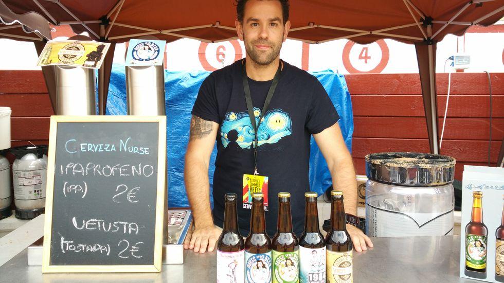 Javier Santamaría, socio de cervezas Nurse.