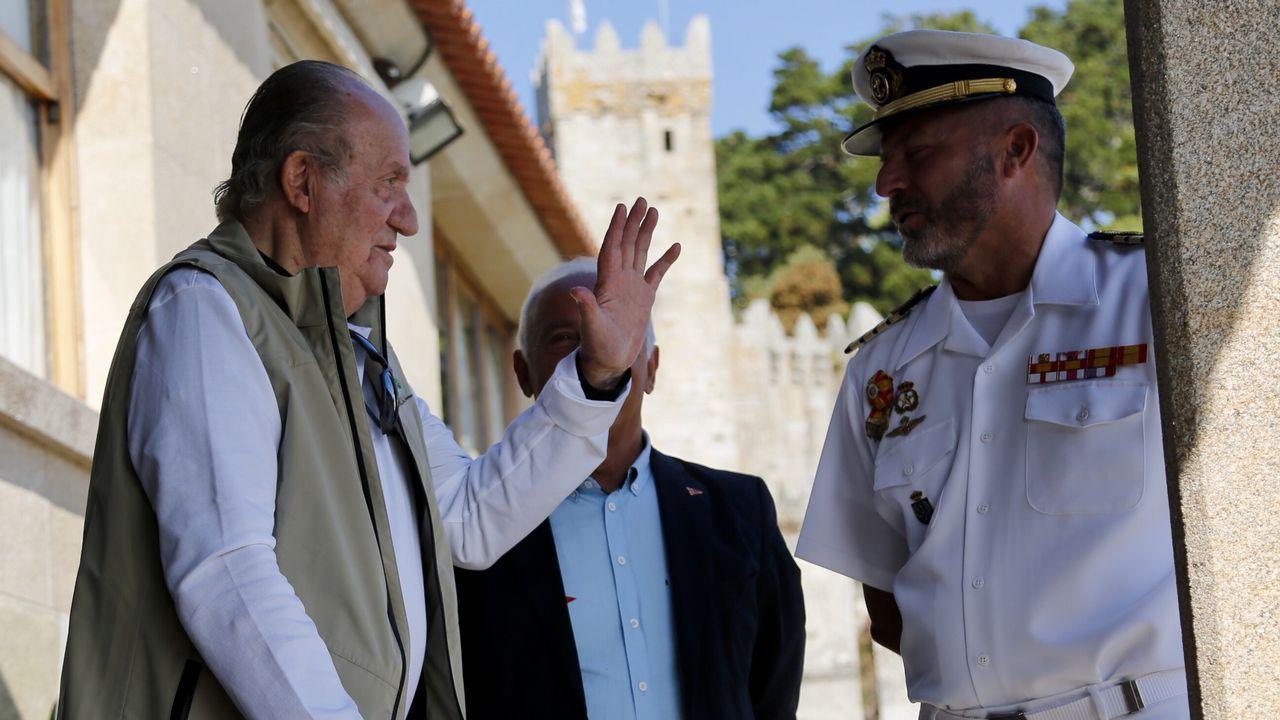 Juan Carlos I en el Trofeo Príncipe de Asturias