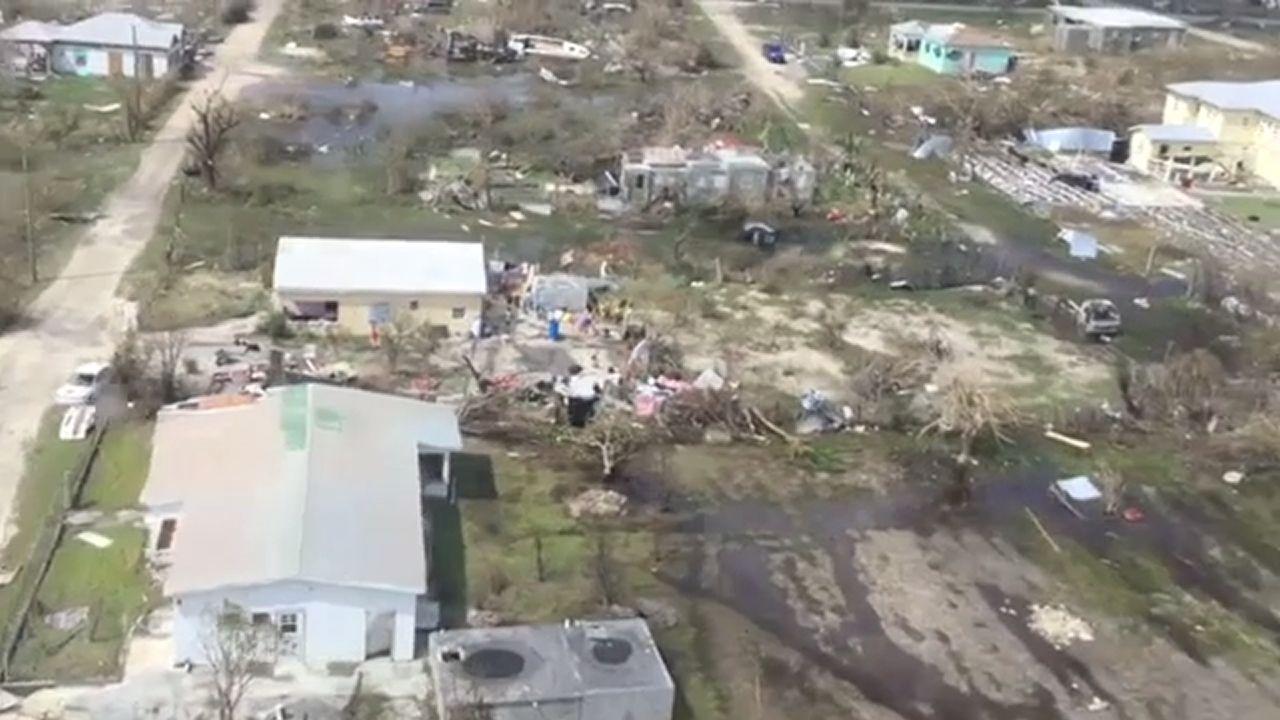 El devastador paso de «Irma» por Antigua y Barbuda
