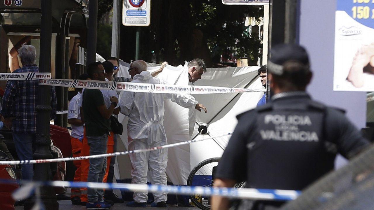 Muere acuchillado un policía al enfrentarse con un sospechoso en Valencia
