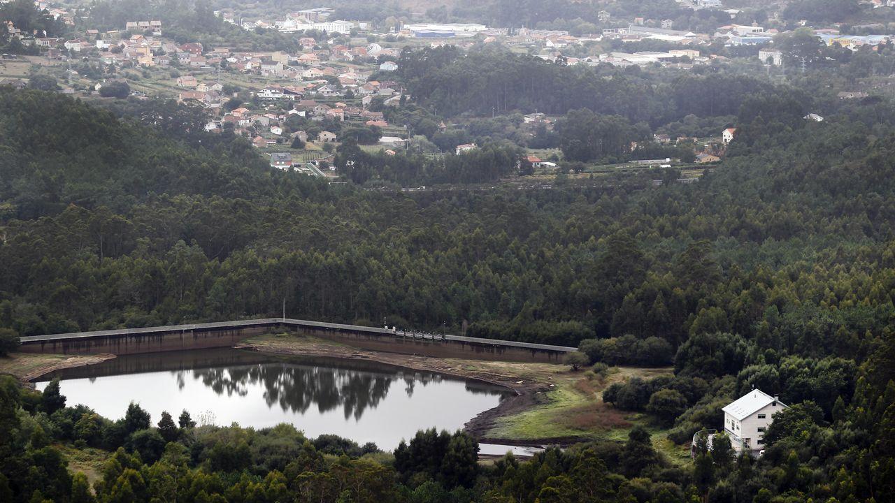 Las consecuencias de la falta de lluvias en el embalse de Castroagudín
