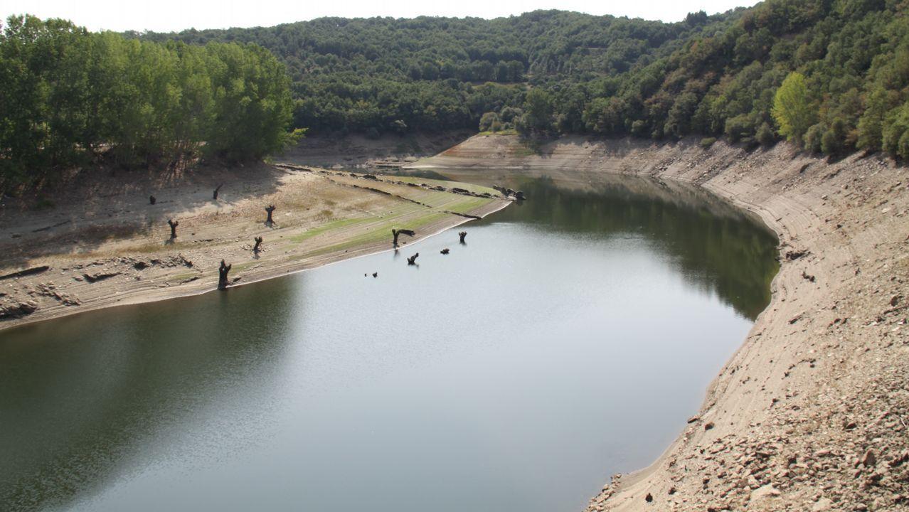 La sequía de los embalses a vista de dron