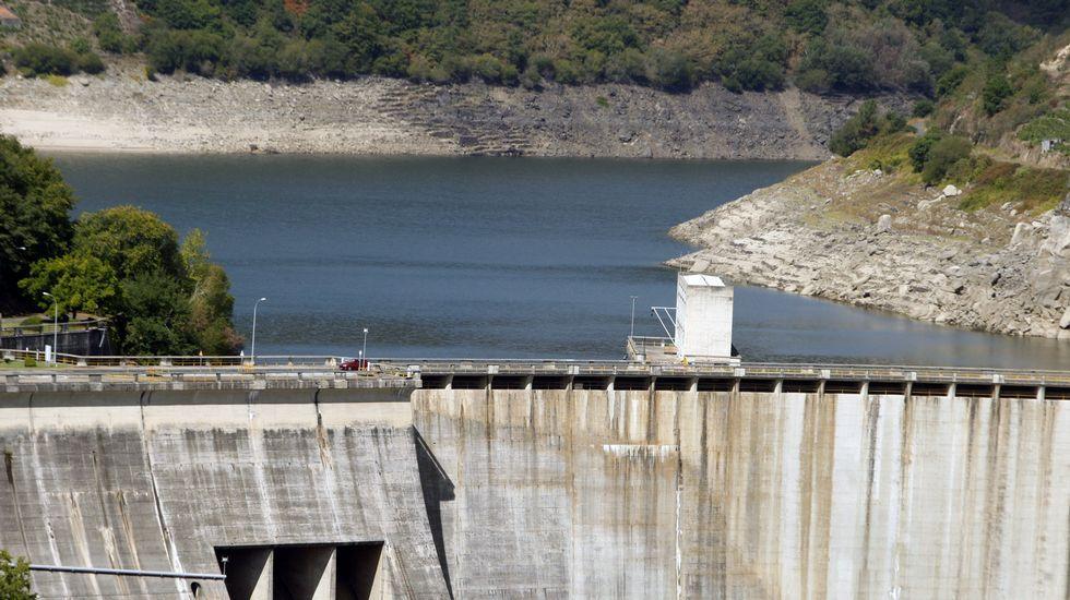 Belesar tras la sequía: el embalse está al 42%
