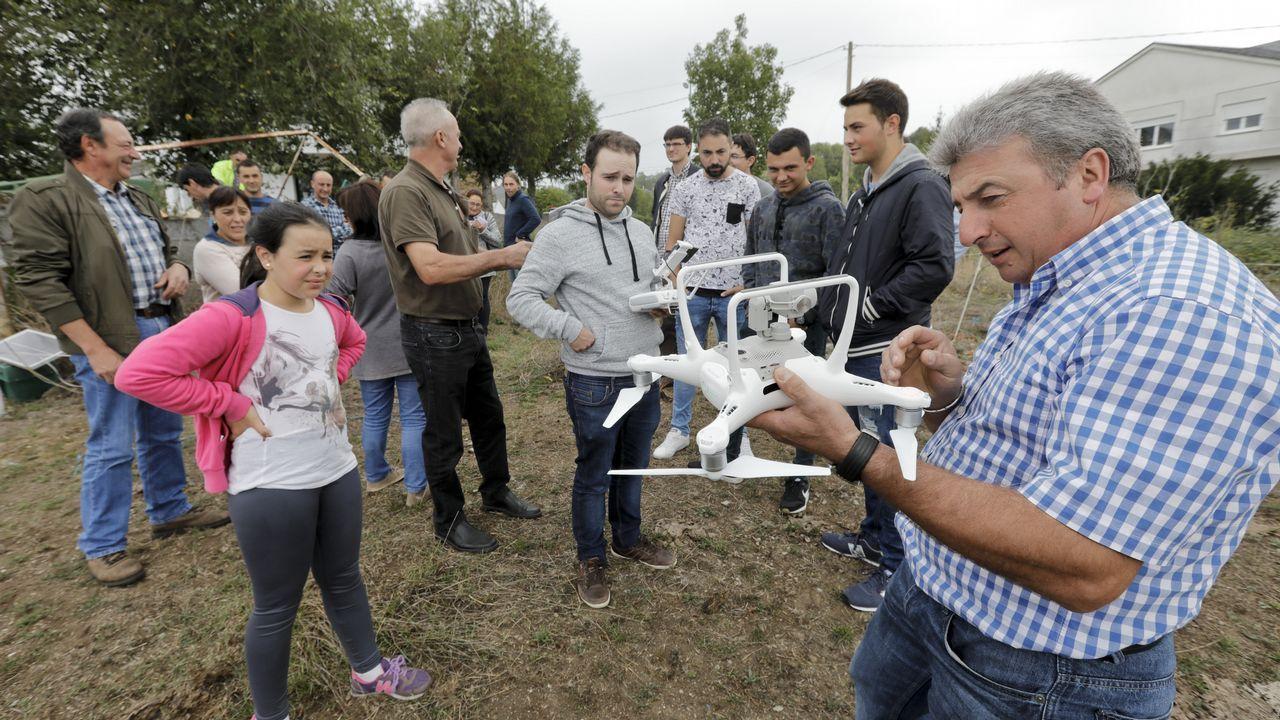 Ganaderos de Cervantes conocen el potencial de los drones
