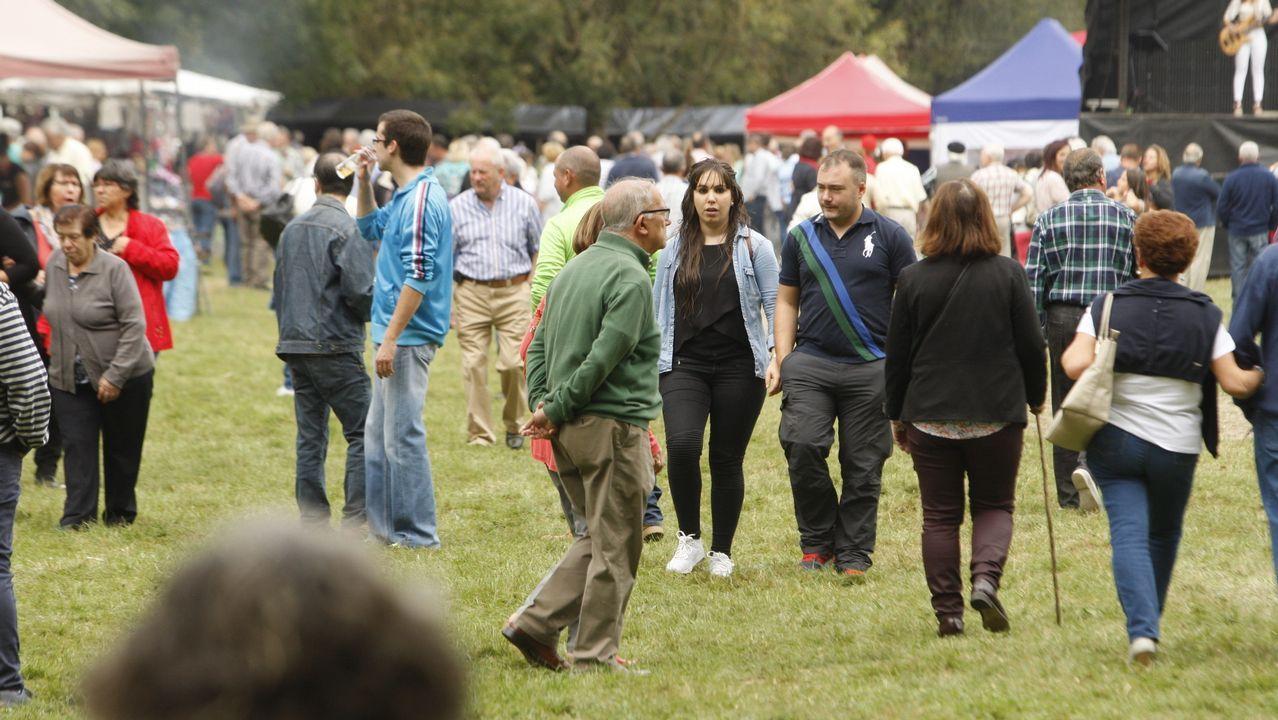 El San Mateo vuelve a llenar el campo de la fiesta de A Parte