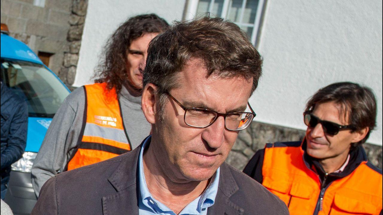 Núñez Feijoo sobre los incendios en Galicia: «Perdimos el control 12 horas»