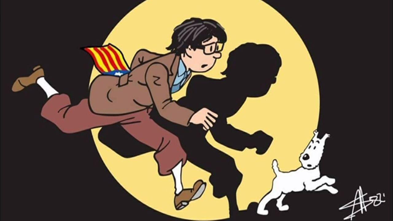 Puigdemont se va a Bruselas... pero sus memes se quedan en Twitter