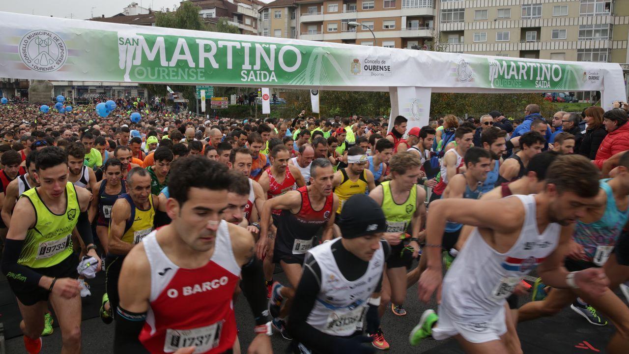 La San Martiño abarrotó las calles de Ourense
