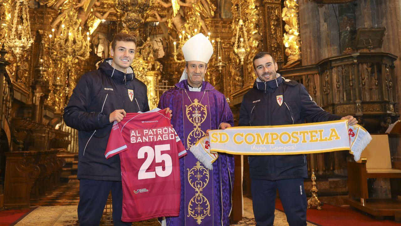 El Compos pide al Apóstol que guíe al club hacia sus objetivos