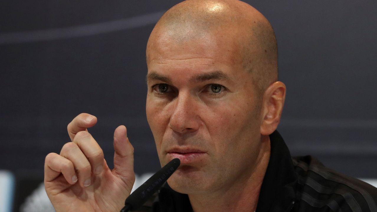Zidane: «Es muy bonito hablar de lo negativo del Real Madrid, vende más»