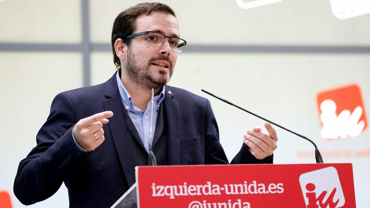 Alberto Garzón: «Hay tiempo suficiente para hacer las cosas mucho mejor»