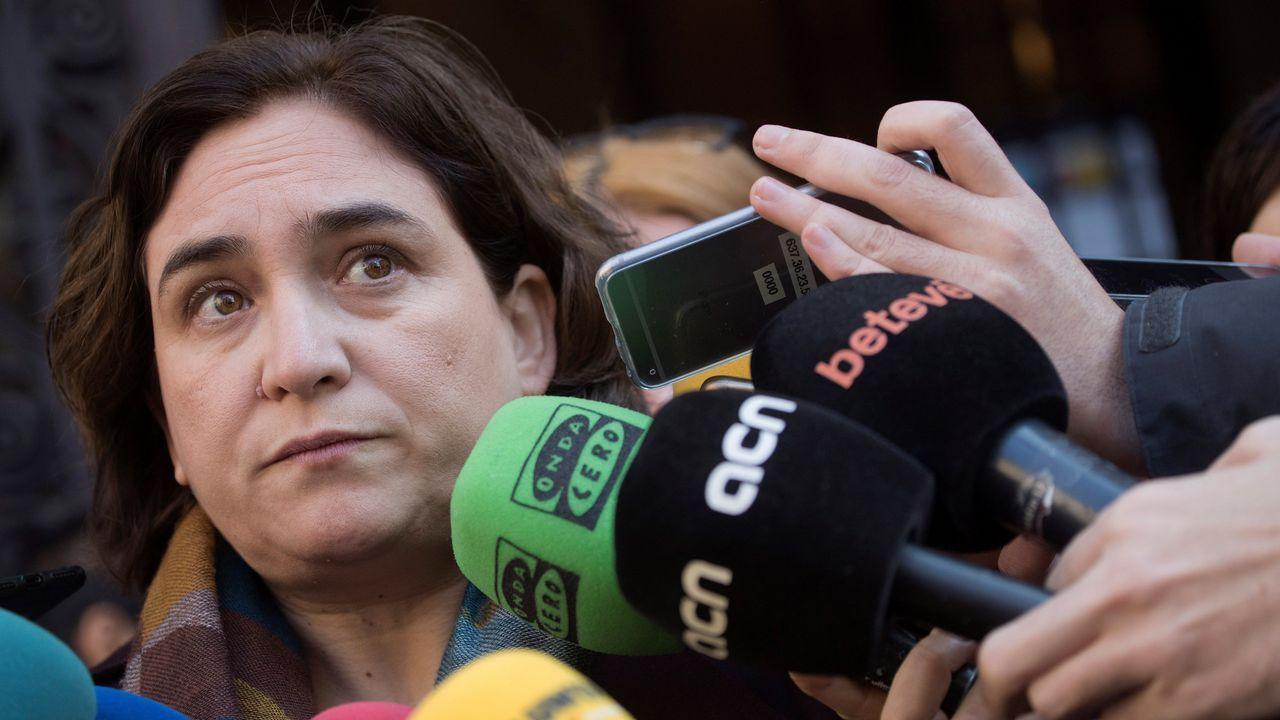 Ada Colau no acudirá a la recepción de mañana al rey con motivo del Mobile World Congress