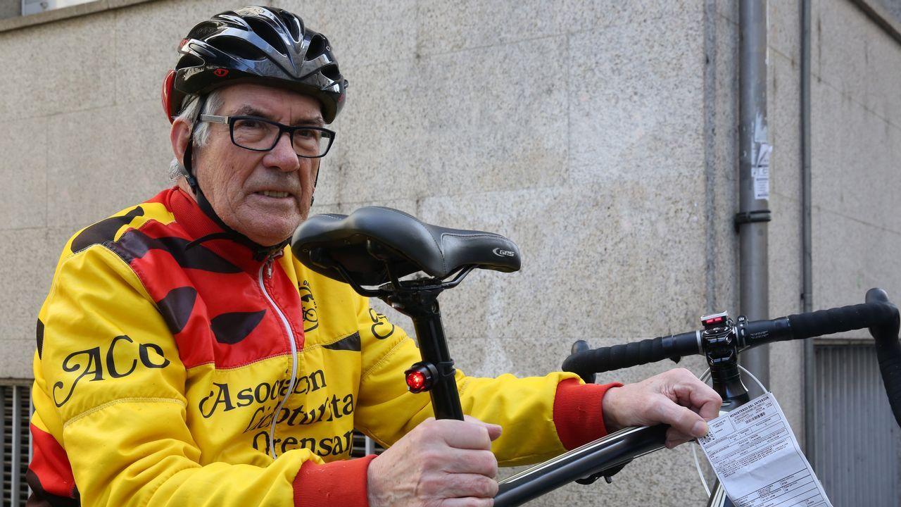 Un ourensano logra que la DGT valide la luz roja intermitente en los ciclistas