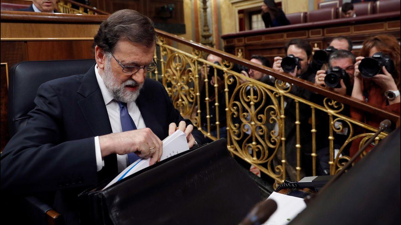 Rajoy avanza que subirá las pensiones mínimas y de viudedad en los Presupuestos del 2018