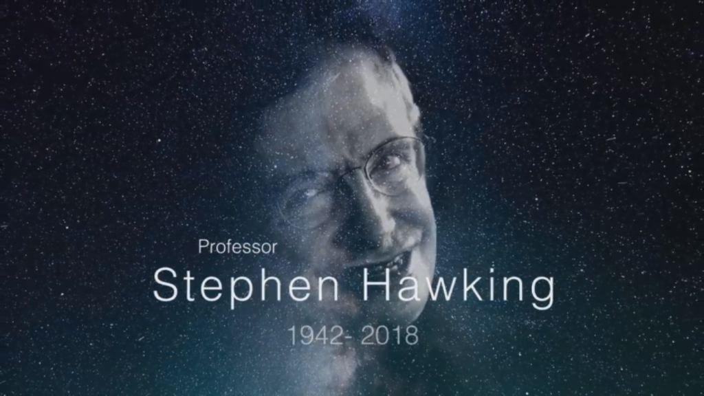 El último mensaje que te deja Hawking: «No te rindas»