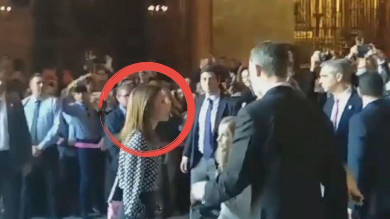 El vídeo definitivo que demuestra que la reina Letizia se enfrentó a doña Sofía