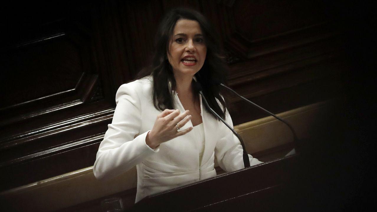 Arrimadas cree que el discurso de Torra es «más leña al fuego»