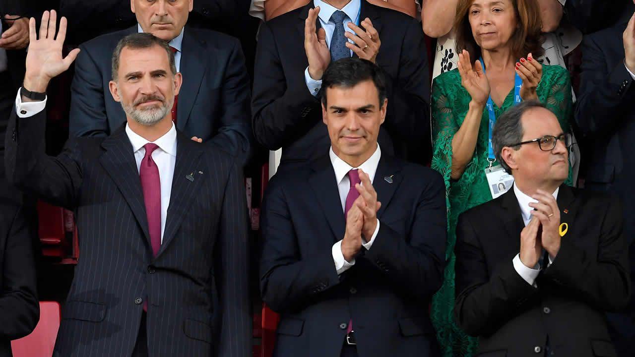 Torra acudirá junto al Rey a la inauguración de los Juegos Mediterráneos