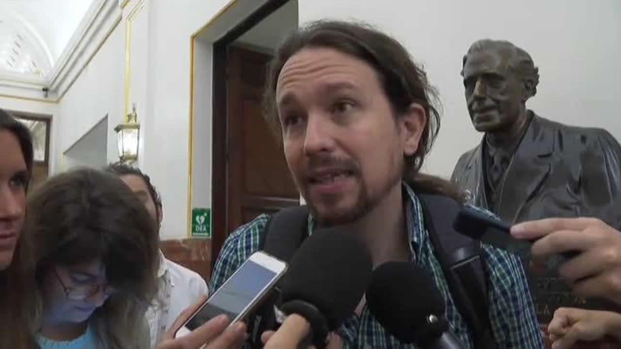 Pablo Iglesias ve «cutre» que Pedro Sánchez copiara párrafos en su libro