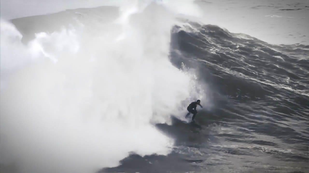 Pendientes del nacimiento de «Panchorro», la ola gigante