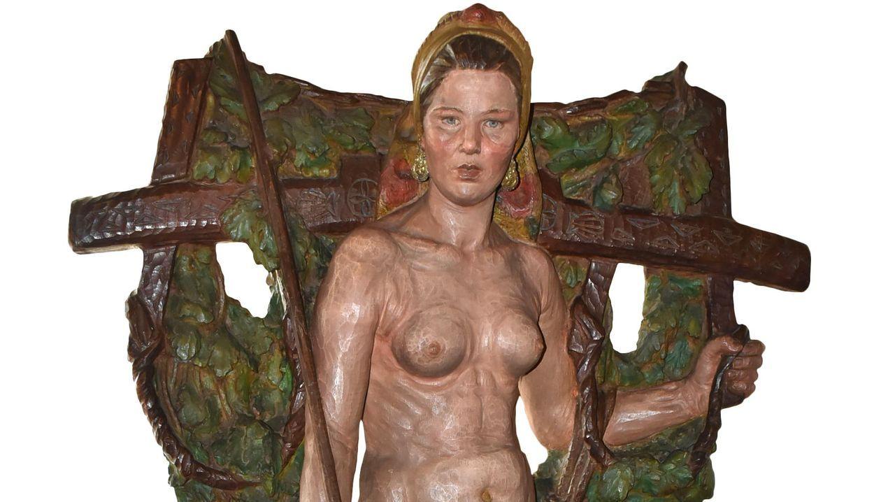 «Santa» -que causó no poco estupor en la Exposición Nacional de Bellas Artes en Madrid de 1926- formará parte de la muestra «Galicia, un relato no mundo»