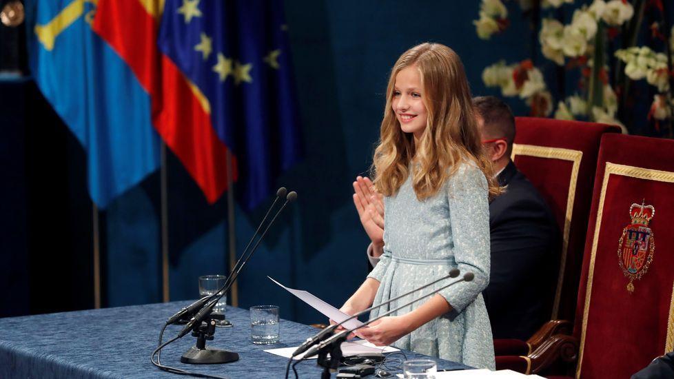 La Fundación Princesa de Asturias felicita a Leonor por sus 14 años