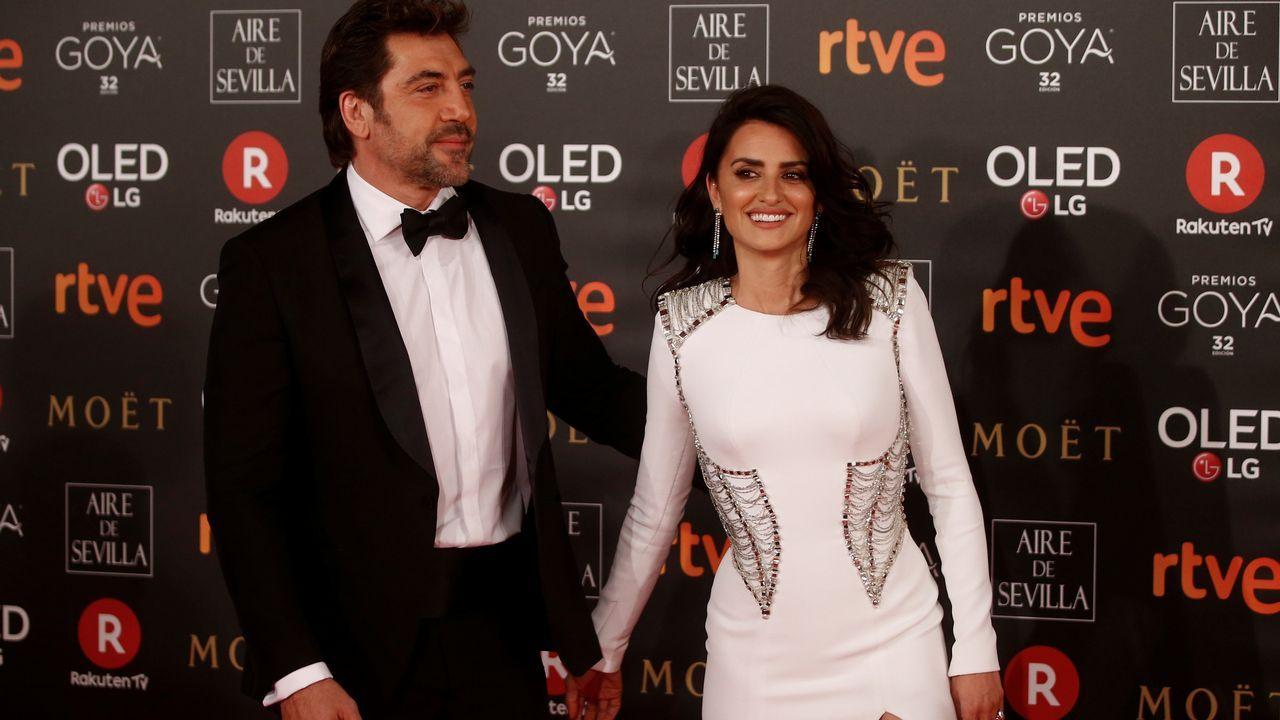 .Penélope Cruz y Javier Bardem
