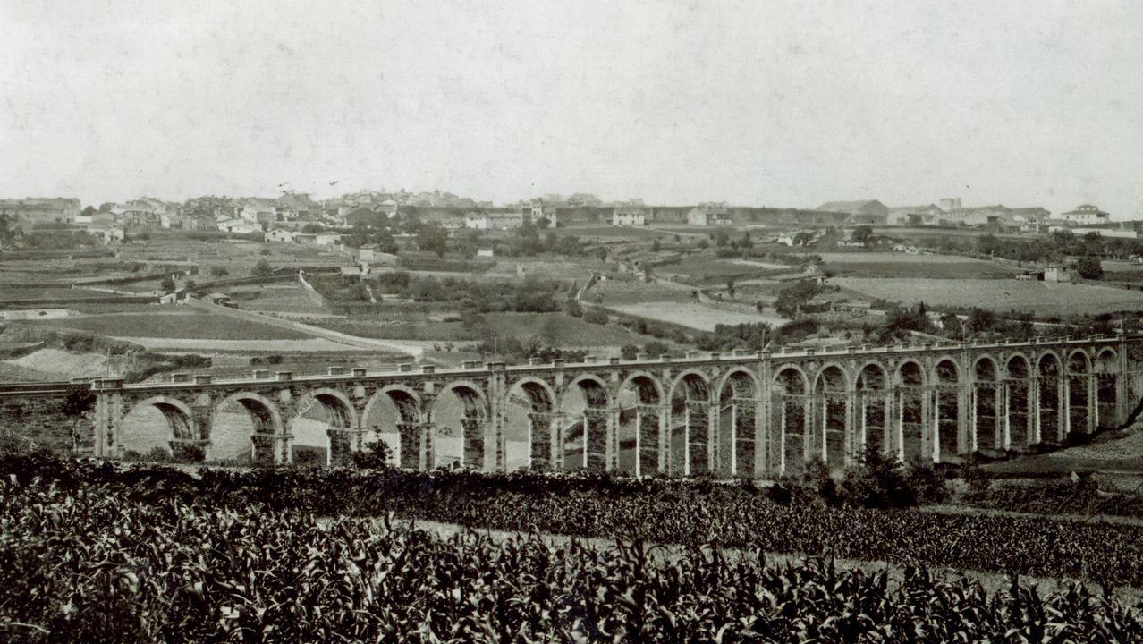Accidente mortal en Arbo.Las víctimas, en una concentración en Santiago