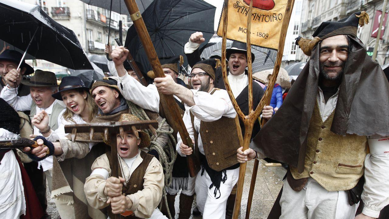 La lluvia aplaza la Reconquista.